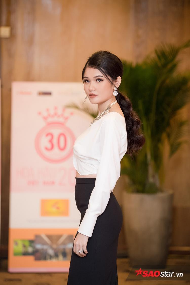 Á hậu Việt Nam 2016 Thuỳ Dung cũng có mặt tại sự kiện.