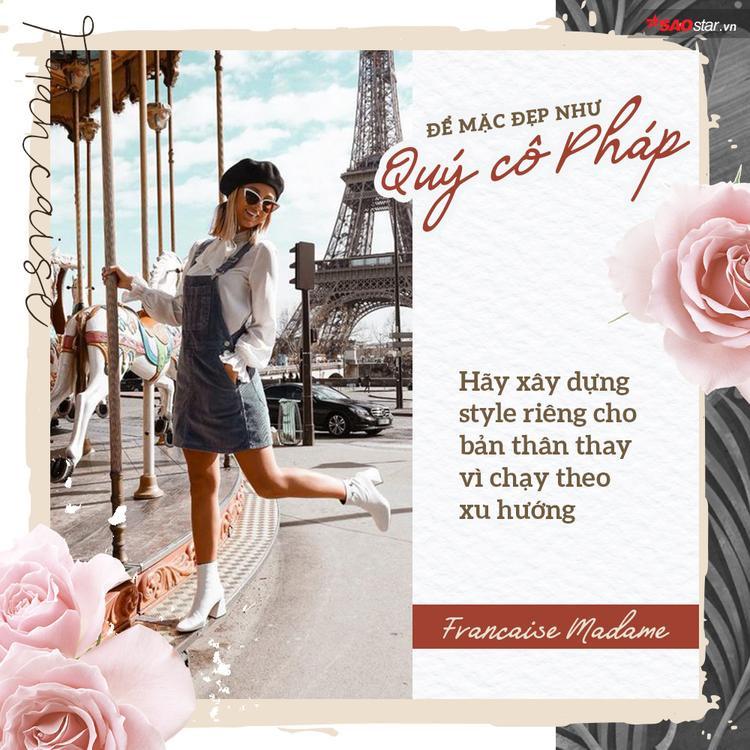Giữa muôn trùng sexy nhàm chán hãy khí chất ngời ngời, thần thái đỉnh cao như quý cô Pháp!
