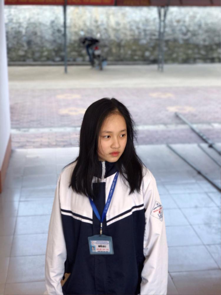 Lưu Ly hiện là học sinh trường THPT chuyên Nguyễn Tất Thành, Yên Bái.