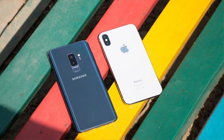 iPhone X và Samsung Galaxy S9/ S9+ vẫn là những chiếc điện thoại được yêu thích nhất.