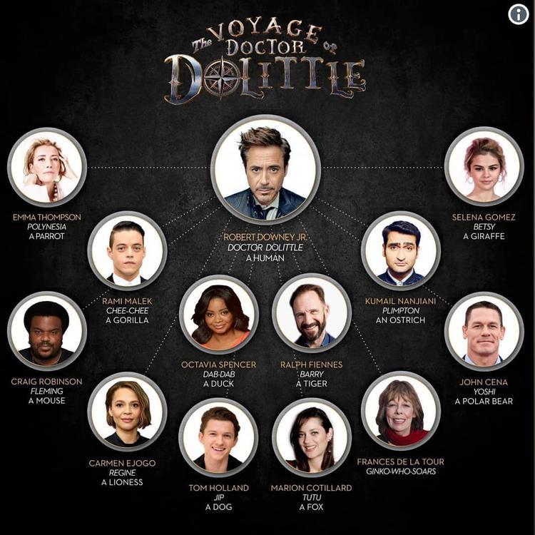 CineEurope: Những thông tin thú vị về Doctor Dolittle, Đẳng cấp thú cưng 2 và The Grinch