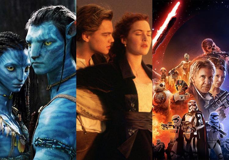 """Ba siêu phẩm trước đó đã thu được 2 tỉ USD là """"Avatar"""", """"Titanic"""" và """"The Force Awakens""""."""
