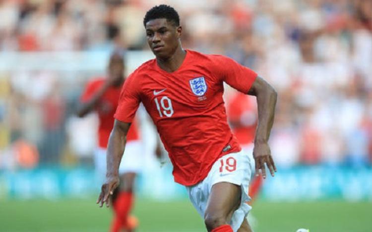 Rashford chấn thương trong một buổi tập của đội tuyển Anh