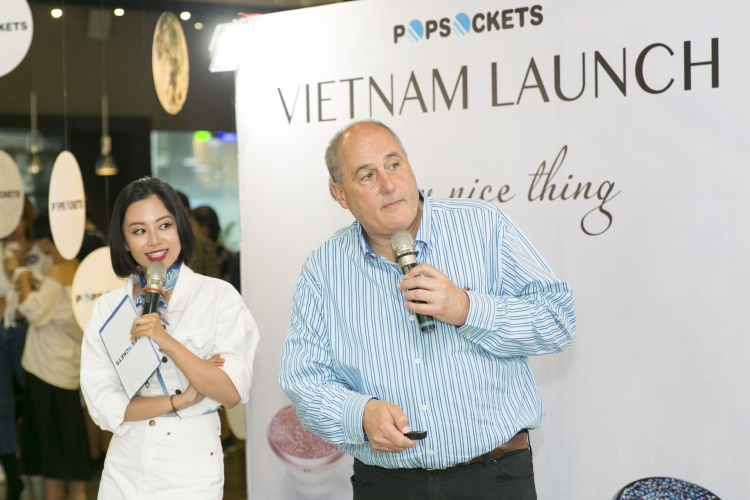 Giá đỡ điện thoại thông minh PopSockets ra mắt tại Việt Nam