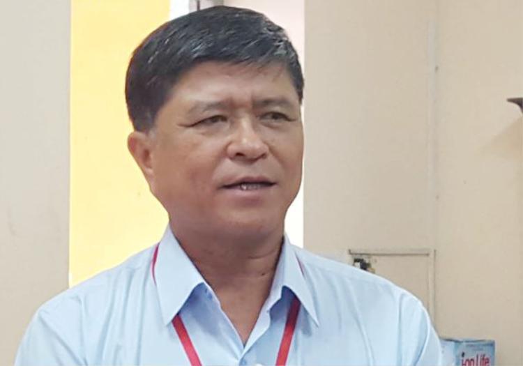 Ông Nguyễn Văn Hiếu thông tin về kỳ thi vào lớp 10. Ảnh: Zing.vn.