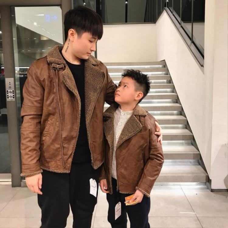 Lin Jay và con riêng của bạn gái