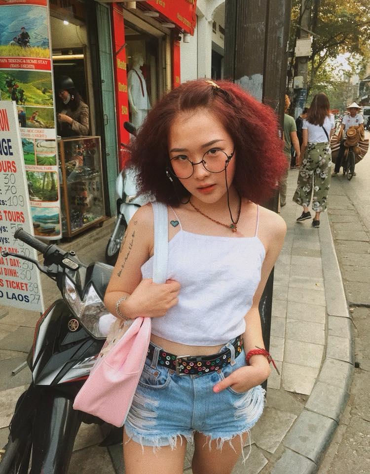 Trên trang cá nhân, Lê Na thường xuyên cập nhật những bức ảnh thể hiện gu thời trang cực chất của mình.