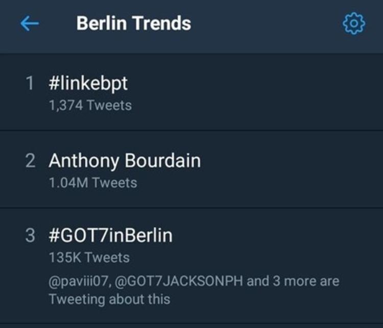 Sau mỗi đêm diễn, GOT7 lại trở thành chủ đề nóng trên mạng xã hội Twitter.