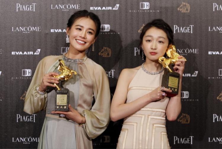 Mã Tư Thuần - Châu Đông Vũ cùng đoạt giải Ảnh hậu Kim Mã 2016