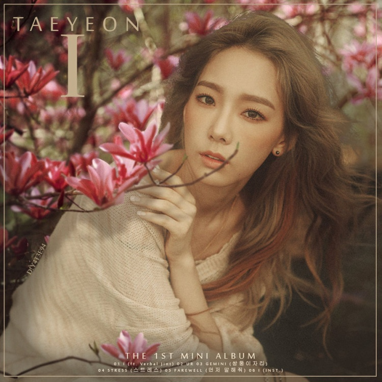Tạo hình công chúa cổ tích hòa mình vào thiên nhiên trong album 'I' (2015) của Taeyeon.