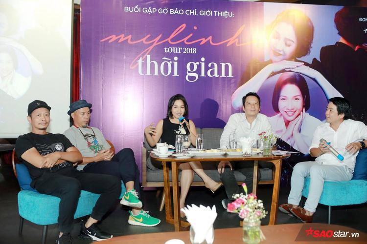 Tour diễn là sự hội ngộ của những tên tuổi đã đồng hành cùng Mỹ Linh từ thuở mới vào nghề.