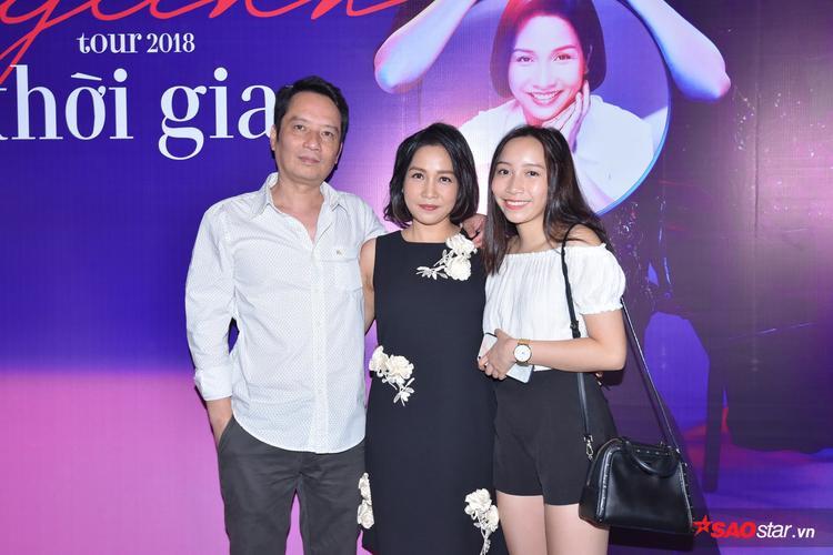 Gia đình Mỹ Linh cùng góp sức thực hiện tour âm nhạc đặc biệt.