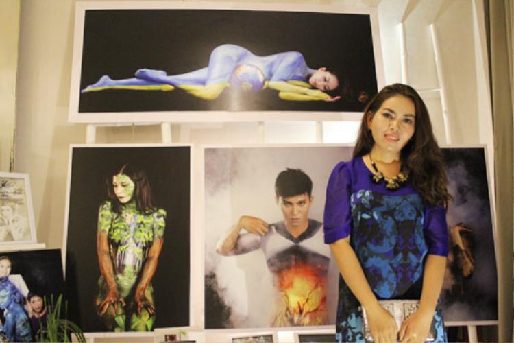 Họa sĩ Mỹ Hạnh - mẹ đẻ của nghệ thuật Body Art Việt Nam.