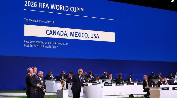 World Cup 2026 có ba quốc gia đồng đăng cai.
