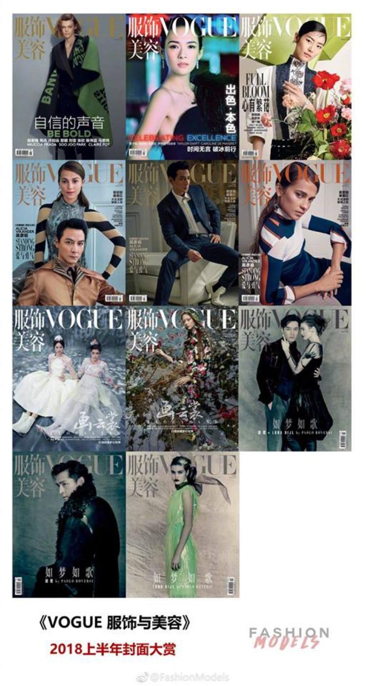 Chương Tử Di và Ngô Ngạn Tổ vinh dự trở thành hai gương mặt minh tinh hiếm hoi giữa vô vàn siêu mẫu được xuất hiện trên trang bìa tạp chí thời trang danh giá Vogue.