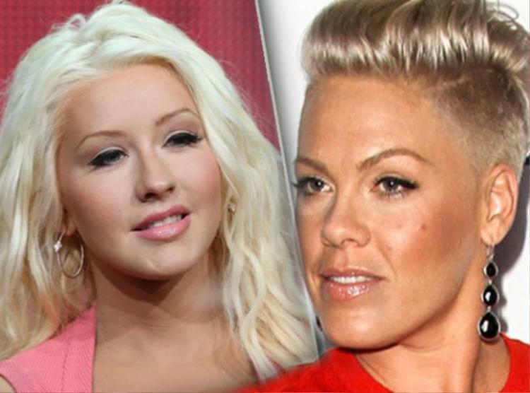 Christina Aguilera/ Pink - Mối thâm thù từng tốn bao nhiêu mực giấy của báo chí.