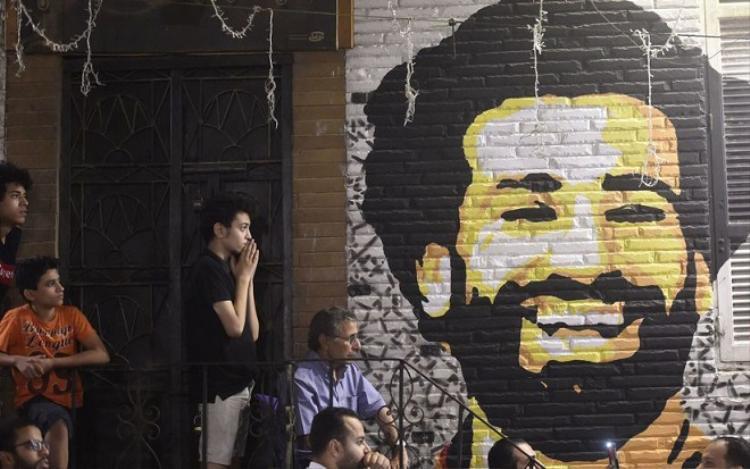 Người dân Ai Cập đang hướng về Salah.