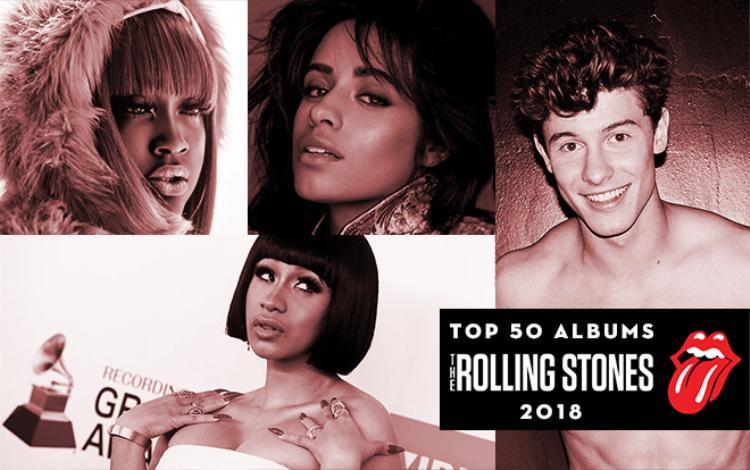 Rolling Stones công bố 50 album hay nhất nửa đầu 2018: Shawn Mendes không hiểu sao vẫn lọt vào!
