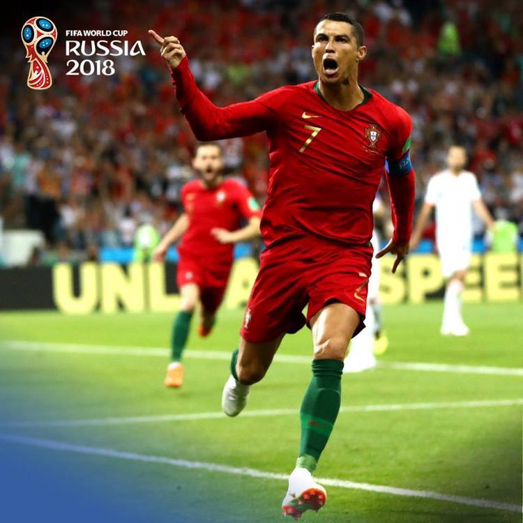 Ronaldo đã có màn trình diễn vô cùng đẳng cấp trước Tây Ban Nha. Ảnh: FIFA