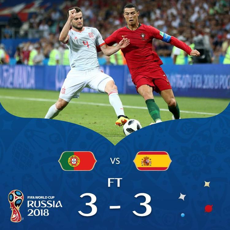 Ronaldo đã có màn trình diễn siêu đẳng trước Tây Ban Nha. Ảnh: FIFA