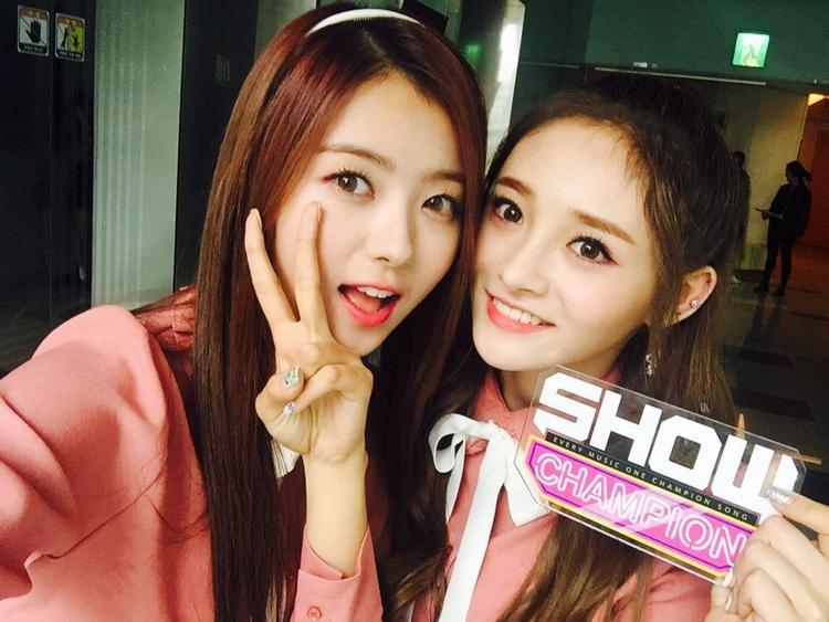 Được biết, 2 thành viên Nayoung và Kyulkyung từng tham gia Produce 101 mùa 1 và nhận được tấm vé debut cùng I.O.I, sau khi trở về công ty thì chính thức debut với nhóm Pristin.