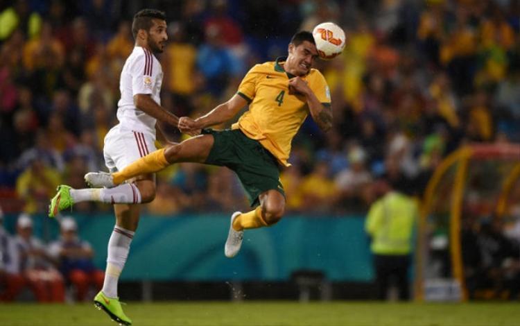 Cahill góp công cực lớn đưa Australia đến đất Nga mùa hè này.