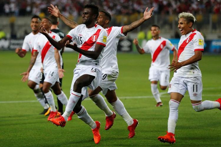 Peru là đội bóng thu hút được nhiều tương tác trên mạng xã hội nhất trong một tháng trước khi giải bóng đá lớn nhất hành tinh khởi tranh. Lần đầu Peru tham dự World Cup là vào năm 1982.