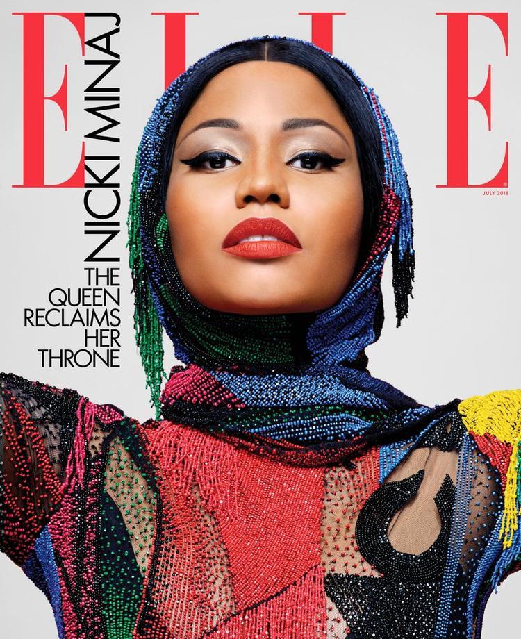Thần thái ngút trời trên trang bìa mới nhất của Elle.