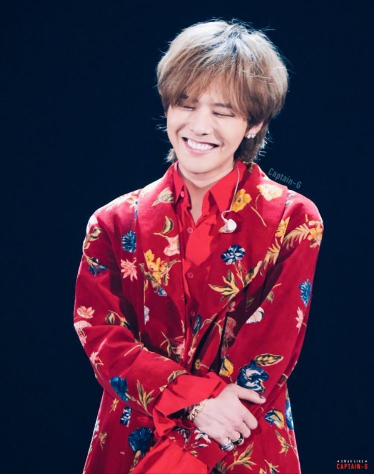 Nụ cười ấm áp đốn tim fan của G-Dragon.