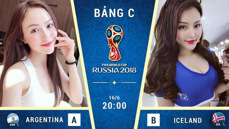World Cup đang nóng lên từng ngày với sự xuất hiện của các đội tuyển rất mạnh. Một trong những ứng cử viên sáng giá cho chức vô địch năm nay là Argentina. Đội bóng này vừa có cuộc đối đầu với Iceland vào hồi 20h tối 16/6 kết thúc trận đấu với kết quả 1-1.