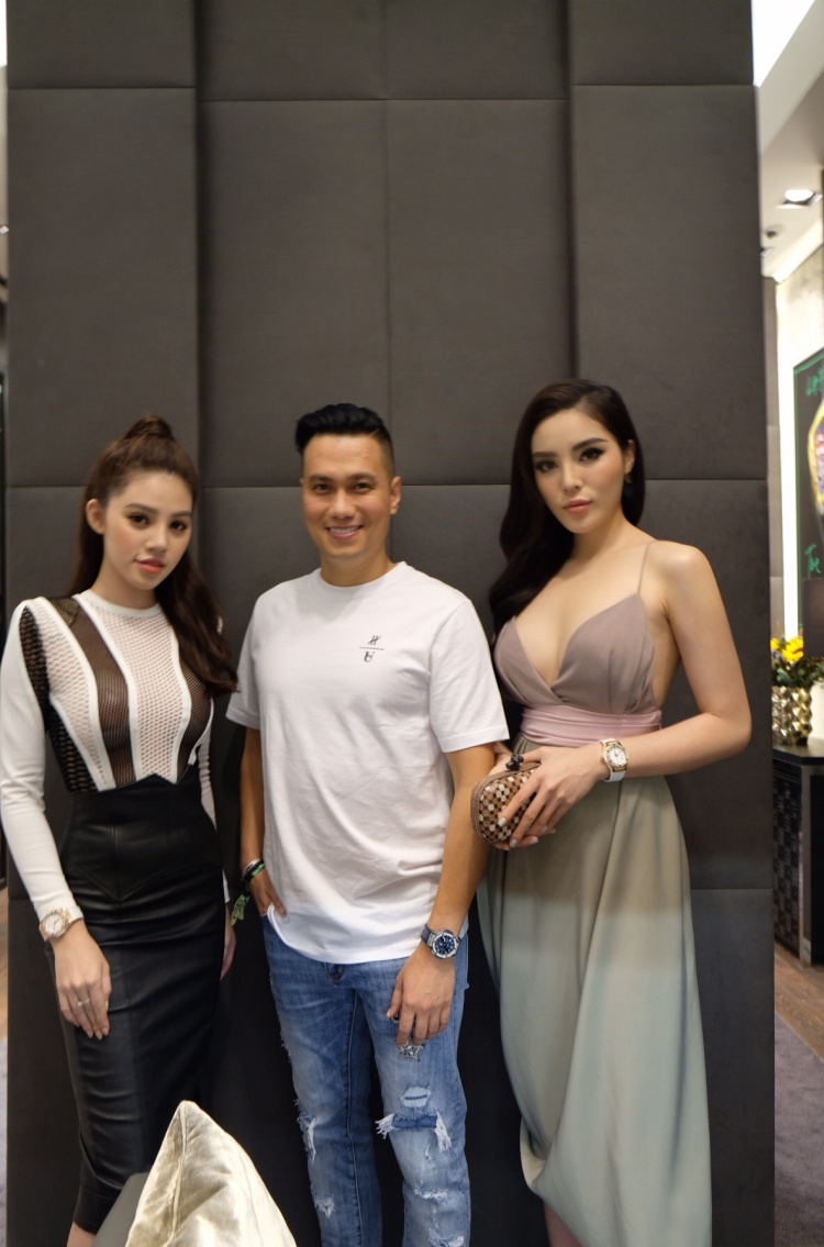 Jolie Nguyễn, diễn viên Việt Anh cùng dự sự kiện với Kỳ Duyên.