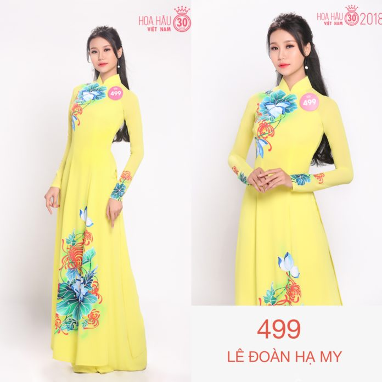 Thí sinh Hoa hậu Việt Nam 2018 diện áo dài khoe sắc rực rỡ, cuộc chiến không khoan nhượng đã bắt đầu