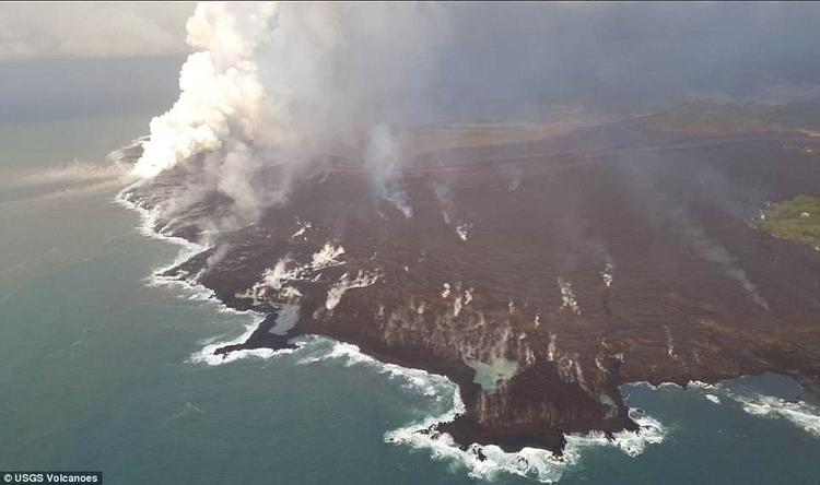 Các nhà khoa học cũng cho biết, cường độ hoạt động của núi lửa xảy ra hôm vừa rồi tương đương với một trận động đất mạnh 5,3 độ Richter.