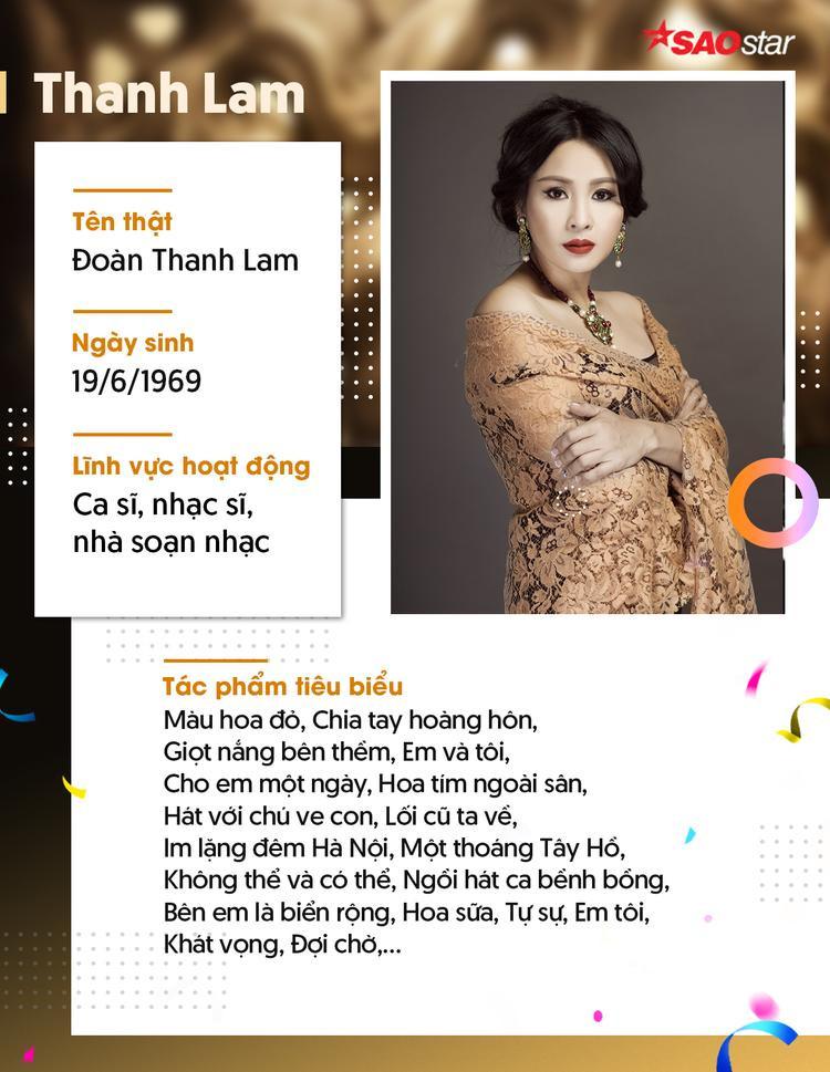 Mừng sinh nhật diva Thanh Lam người đàn bà hát vẫn mãi cất cao khúc nhạc tình