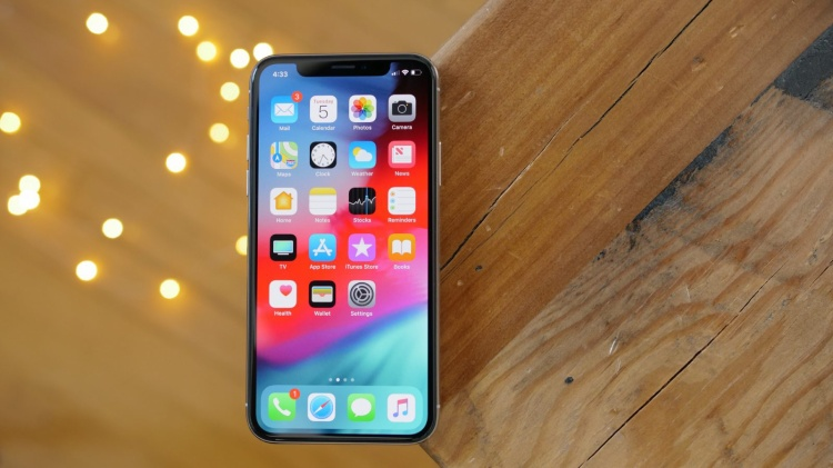 Apple lần đầu giới thiệu iOS 12 trên sân khấu sự kiện WWDC 2018.