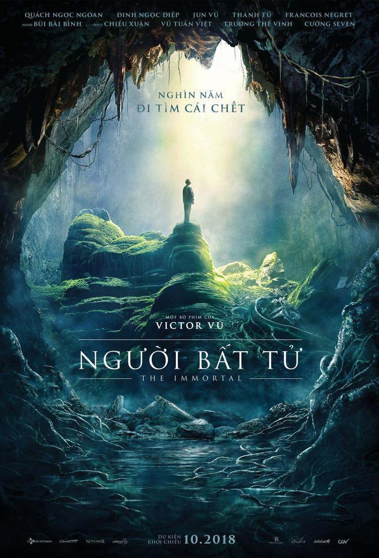 Sau đề tài siêu anh hùng, Victor Vũ đi tìm thuật bất tử trong trailer Người bất tử đầy tâm linh