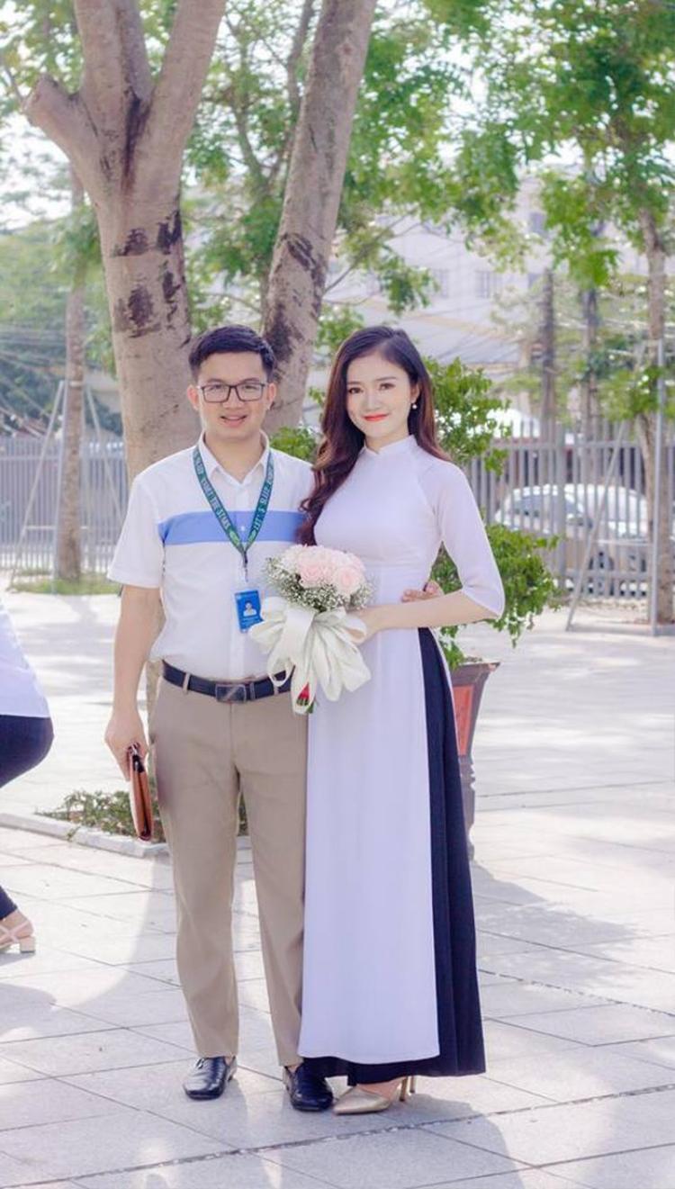 Cặp đôi đẹp của Đại học Vinh.