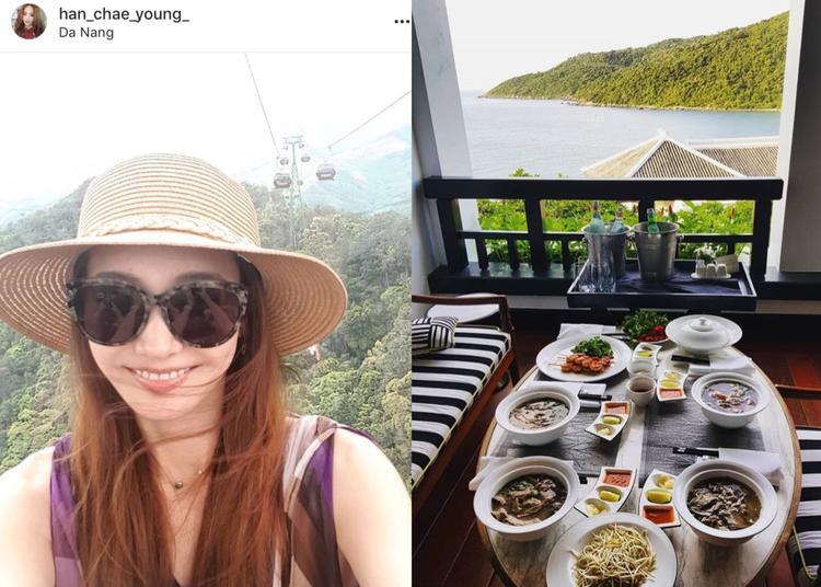 """Hình ảnh trên Instagram của nữ diễn viên """"Vườn Sao Băng""""."""