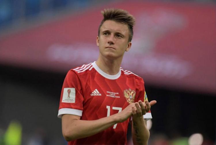 Tiền đạo: Aleksandr Golovin (Nga).