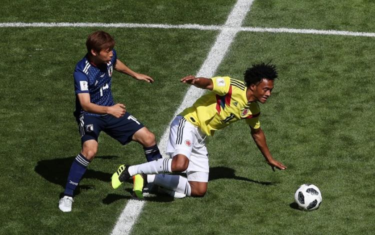 Đội tuyển Nhật Bản đã tạo ra cú sốc lớn trước Colombia. Ảnh: Fifa.com.