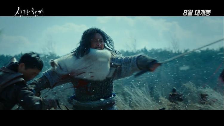 Teaser Thử thách thần chết 2 hé lộ trận chiến cát tuyết và đại dương, Ma Dong-Seok vào vai thần ký ức