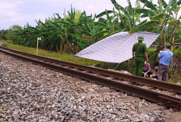 Hiện trường vụ tai nạn (ảnh Hoàng Nam)