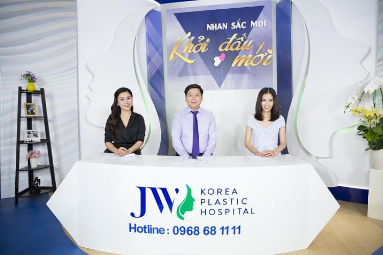 MC Anh Thơ, TS.BS Nguyễn Phan Tú Dung và người mẫu Nam Anh.