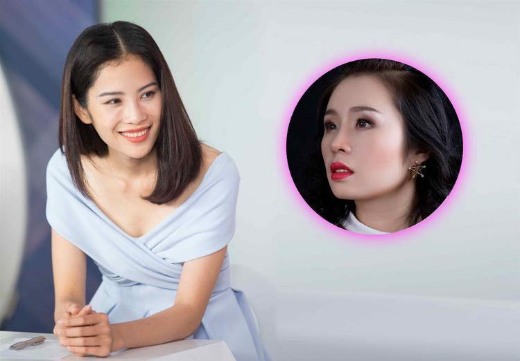 Người mẫu Nam Anh ngỡ ngàng vì nhan sắc của Việt Trang sau nâng mũi.