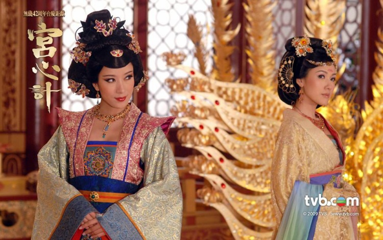 """Diêu Kim Linh và Hiền phi đối đầu kịch liệt trong nửa sau """"Cung tâm kế""""."""