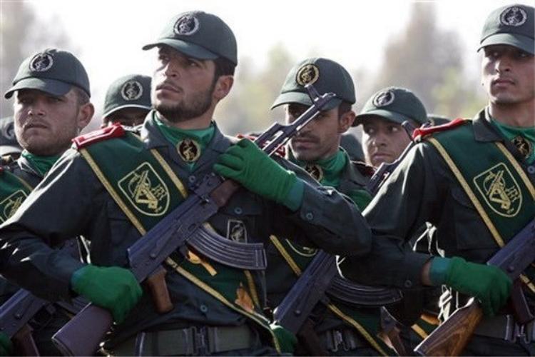 Lực lượng Vệ binh Cách mạng Iran.