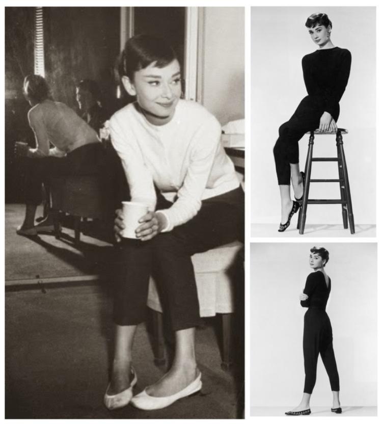 Giày bale bệt chính là món đồ tượng trưng cho phong cách của Audrey Hepburn. Đến tận thời điểm hiện tại người hâm mộ vẫn nhớ về bà với hình ảnh một biểu tượng thời trang luôn trung thành với những đôi giày bệt xinh xắn.