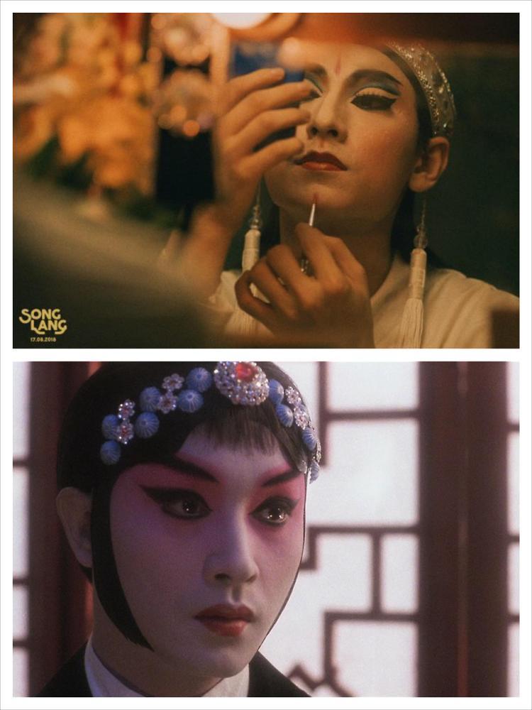 Phải chăng trong phim mới Song Lang, Isaac muốn làm Trương Quốc Vinh của Bá Vương Biệt Cơ?