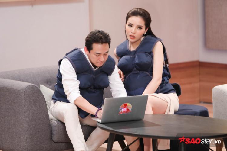 Kỳ Duyên sốc khi Hương Giang chính là người yêu cũ và giúp Hứa Vĩ Văn nổi tiếng