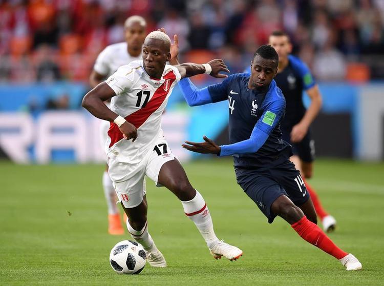 Tuyển Peru thua đầy tiếc nuối trước Pháp. Ảnh: FIFA
